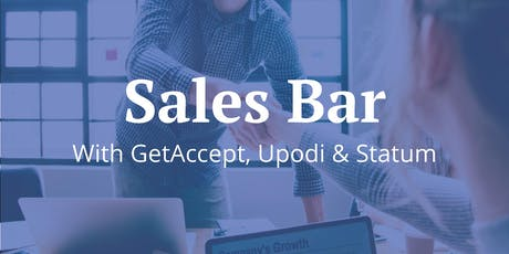 Sales Bar #5 | GetAccept x Upodi x Statum | Talks, Beers & Pizzas tickets