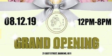 VEY Hair Salon's Grand Opening tickets