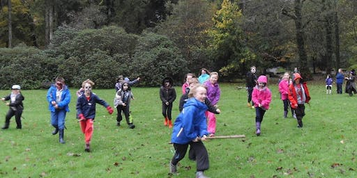 Credu Brecon Halloween Forest Capers
