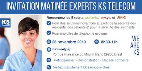 Matinée Experts KS TELECOM - Brest billets