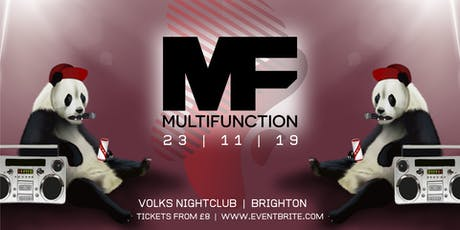 Multi Function Brighton tickets