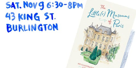 The Little(r) Museums of Paris author talk at the Alliance Francaise tickets