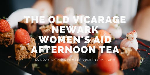 Newark Women's Aid Charity Afternoon Tea