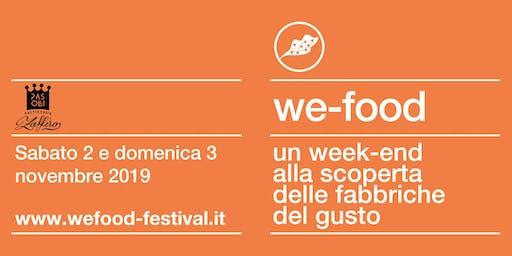 We-Food 2019 @ Pasticceria Zaffiro