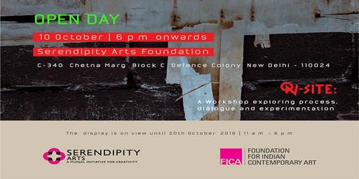 OPEN DAY by Serendipity Arts Foundation & Foundation for Indian Contemporary Art