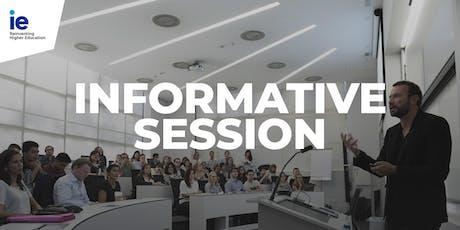 Information Session: Bachelor Programs Las Palmas de Gran Canaria tickets