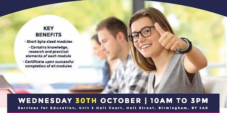 WellVET Launch Event - Online teacher training in pupil wellbeing tickets