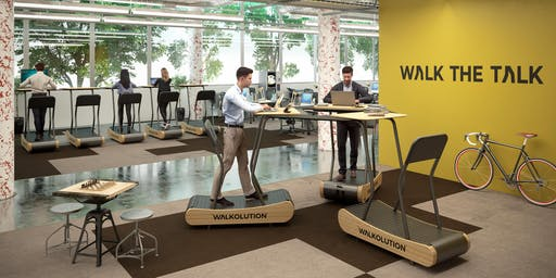 Zürich Walkathon: Walkolution Treadmill Desks @ Büro Züri, ZKB