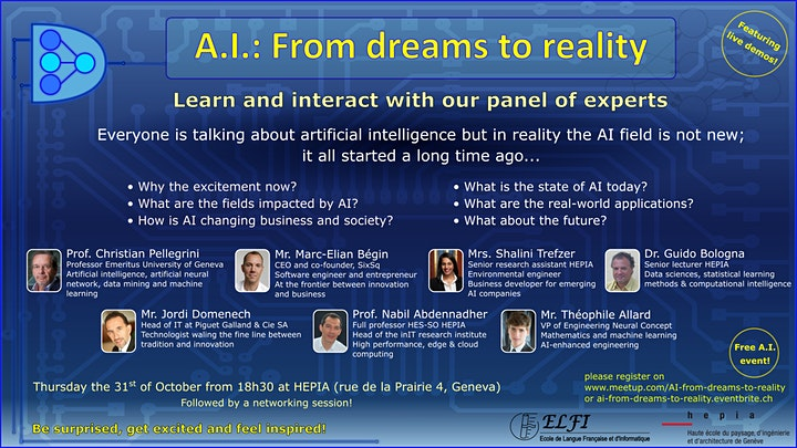 Image pour A.I.: From dreams to reality
