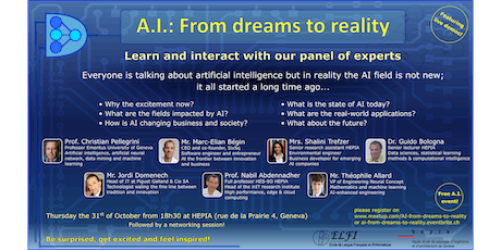 A.I.: From dreams to reality billets