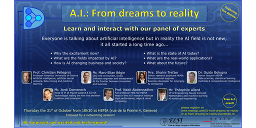 A.I.: From dreams to reality