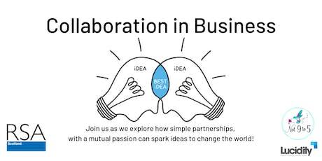 Collaboration in Business:  Edinburgh Event tickets