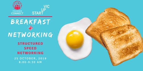 Founder Connect: Breakfast Networking Melbourne tickets