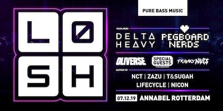 LØSH 07.12.19 w/ Delta Heavy / Pegboard Nerds / Oliverse & more tickets