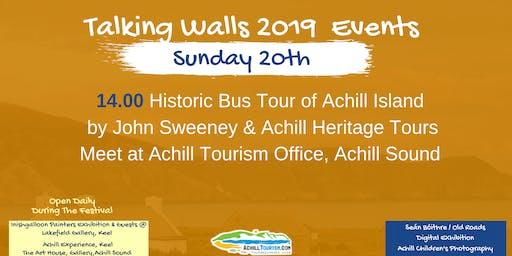 Talking Walls Achill Island Historic Bus Tour