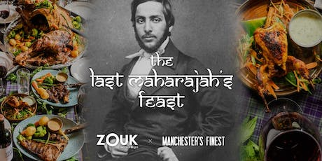 The Last Maharajah's Feast: A 10 dish story of empire, riches and exile tickets