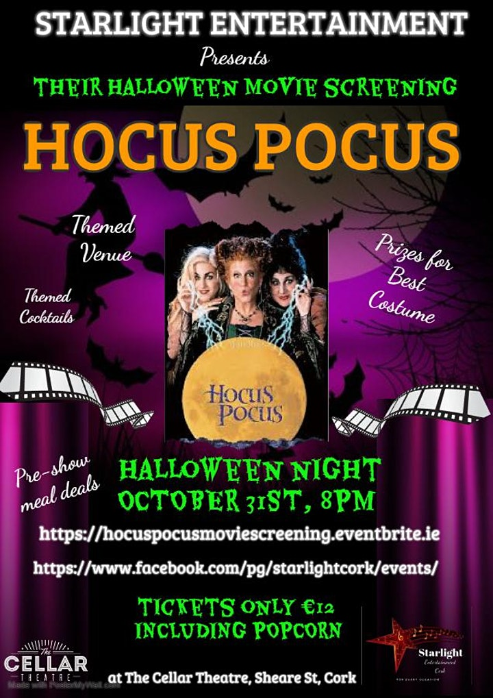 Hocus Pocus Movie screening image