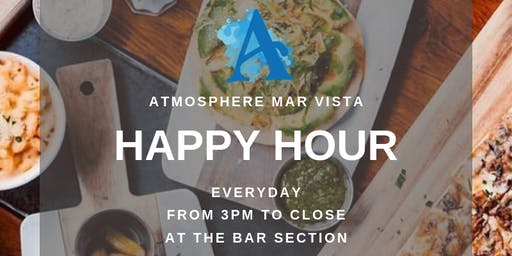 Happy Hour is the best Hour at Atmosphere Mar Vista