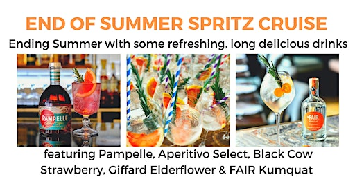 (30/50 Left) End of Summer Spritz Cocktail Cruise - 7pm (The Liquorists)