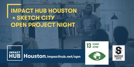 Open Project Night: SDG 13 Climate Action! Hosted by Impact Hub & Sketch City tickets