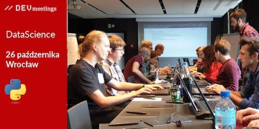DevMeeting DataScience Wrocław 26 października 2019r.