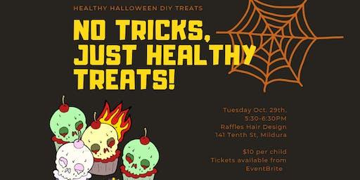 DIY Healthy Halloween Treats- Fun for the Kids