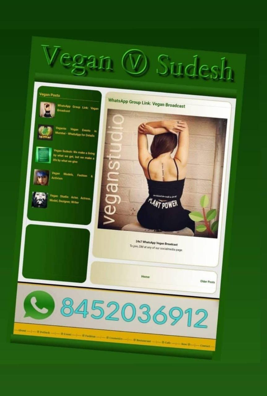 Vegan Startup Meetup - WhatsApp Group in Mumbai