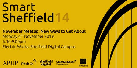 SmartSheffield #14 - New Ways to Get About tickets