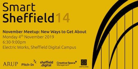 SmartSheffield #14 - New Ways to Get About tickets