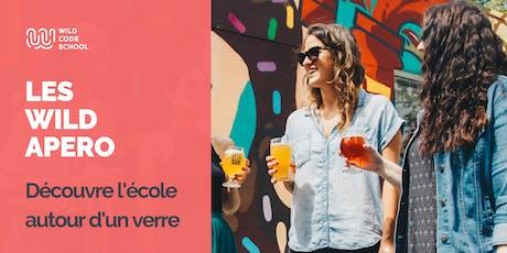 Wild Apero - Bien commencer sa soirée - Wild Code School - Biarritz billets