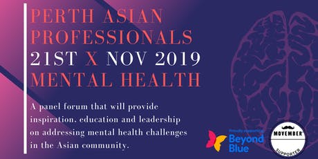 Perth Asian Professionals x Mental Health tickets