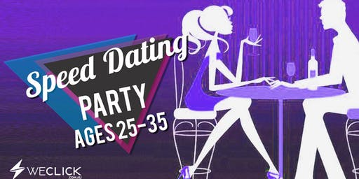 Speed Dating & Singles Party | ages 25-35 | Canberra
