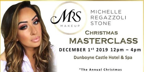 MRS MAKEUP CHRISTMAS MASTERCLASS  tickets