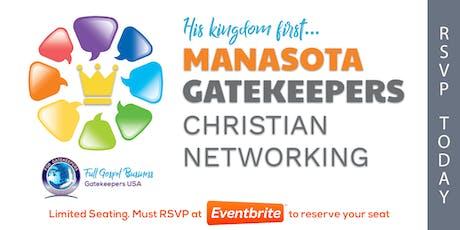 Gatekeepers - Christian Business Network Meeting (Manasota) 10/22/19 tickets