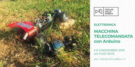 Elettronica con Arduino - Macchina telecomandata biglietti