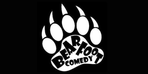 Bearfoot Comedy at The Braid Hills Hotel November 1st