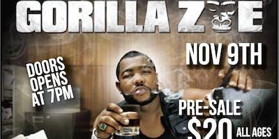Gorilla Zoe Live in Tucson Nov 9th@Dive  All Ages Show