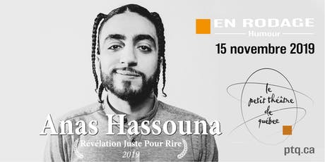 Anas Hassouna - Rodage billets