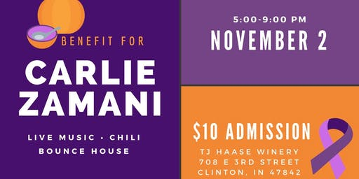 Fall Fundraiser for Carlie Zamani and Family!