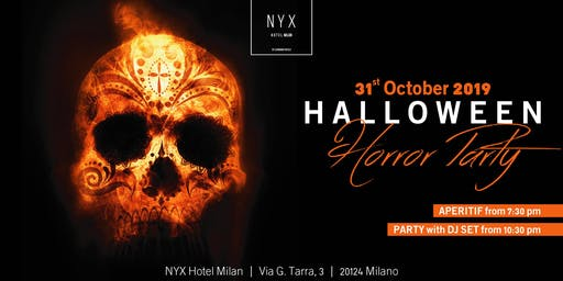 Halloween Milano - The Horror Party Nyx Hotel