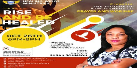 Prophetic Atmosphere of Prayer and Worship tickets