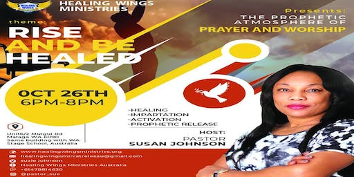 Prophetic Atmosphere of Prayer and Worship