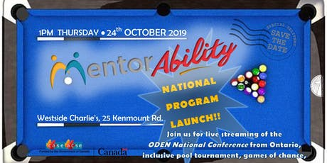 MentorAbility Program Launch and Pool Tournament tickets