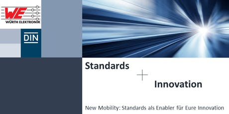 New Mobility: Standards als Enabler für Innovation tickets