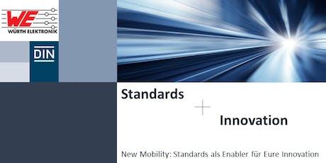 New Mobility: Standards als Enabler für Innovation Tickets