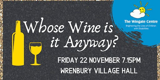 Whose Wine is it Anyway Comes to Wrenbury