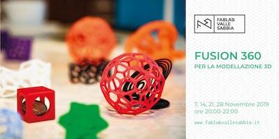 Fusion 360 per la modellazione 3D
