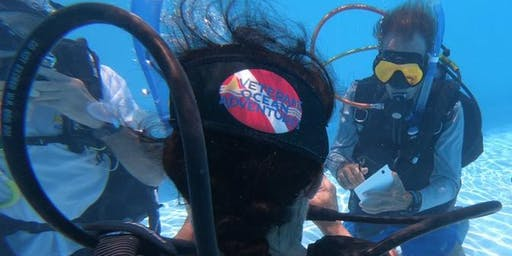 FIU's Recreational Therapy Dept. & Student Veterans of America at FIU host  DISCOVER SCUBA 26 October 2019