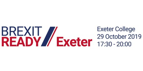 Exeter Brexit Ready: EVENING EVENT tickets