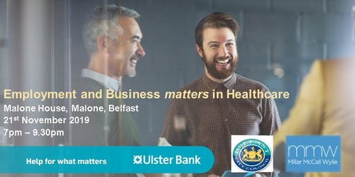 Ulster Bank - Employment and Business Matters in Healthcare